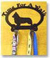 犬種ごとのシルエットが可愛いスチール製リードフック made in USA