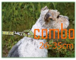 LUPINE 中型犬用コンボカラー26-35cm
